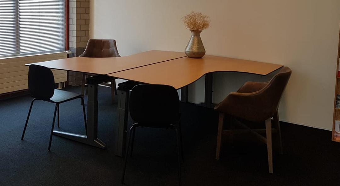 Een werkruimte met alles erop en eraan!